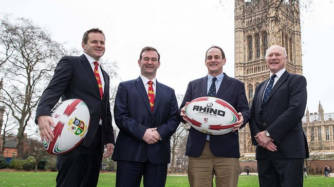 Rhino On Charge Again With British & Irish Lions
