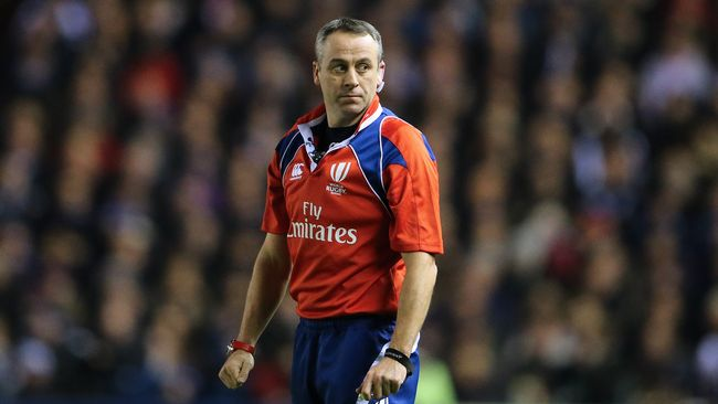 Match Officials Announced For 2017 RBS 6 Nations