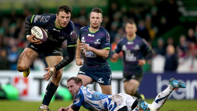 Connacht Make Six Changes For Visit Of Scarlets