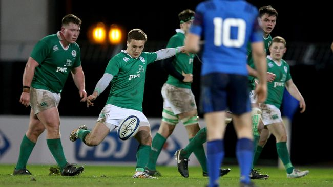 Ireland Under-20 Squad Selected For Six Nations