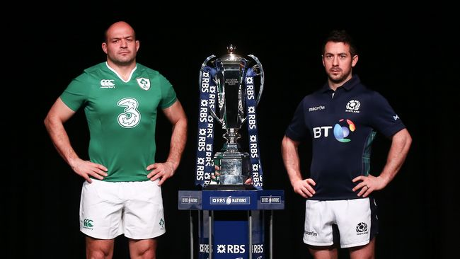 Head-To-Head: Ireland v Scotland