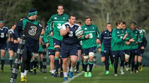 Ireland Training Session At Carton House, Maynooth, Co. Kildare, Wednesday, February 3, 2016