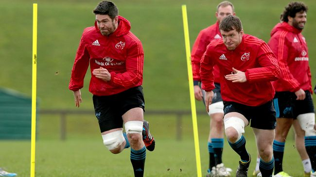 Hurley And Sheridan Back In The Mix For Munster