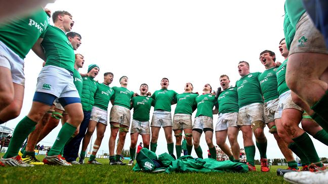 The Ireland Under-19s will play Japan this weekend