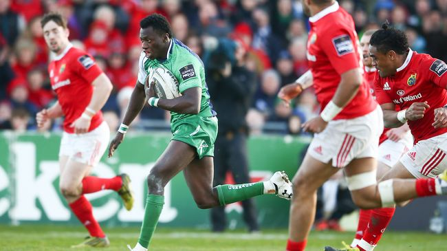 Adeolokun Chosen As Connacht's Player Of The Month