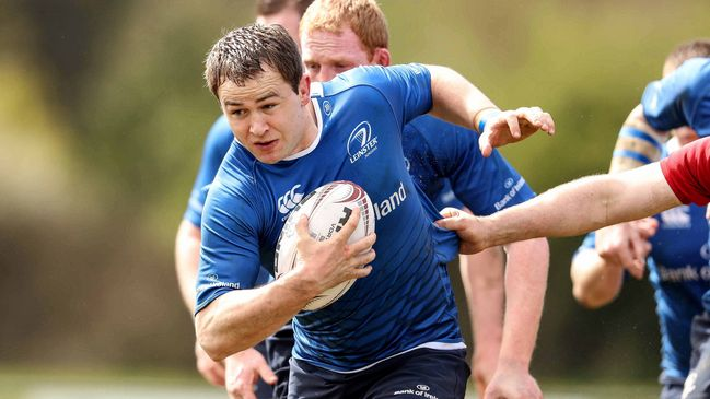 Leinster Junior captain John Shine