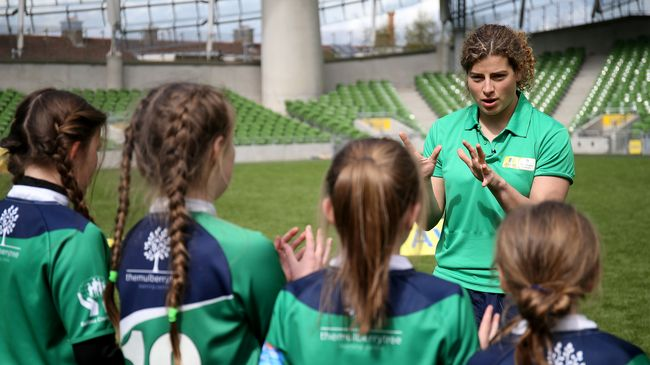 Egan And Murphy Eager To Inspire Next Generation Of 'Girls In Green'