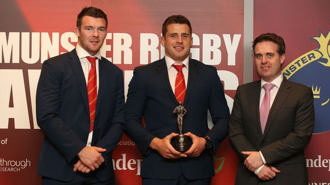Stander Is Munster Player Of The Year For Second Time