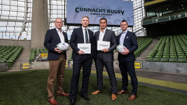 Connacht Launch Vision & Strategy Plan For 2016-2020
