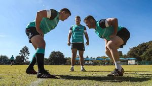 Ireland Squad Training At St. David's Marist School, Sandton, Johannesburg, South Africa, Thursday, June 16, 2016