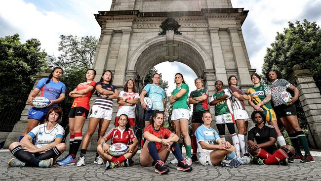 In Pics: Women's Sevens Dublin Launch