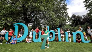 Launch Of World Rugby Women's Sevens Olympic Repechage Tournament, Dublin, Thursday, June 23, 2016