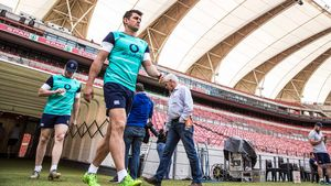 Ireland Captain's Run Session At Nelson Mandela Bay Stadium, Port Elizabeth, Friday, June 24, 2016