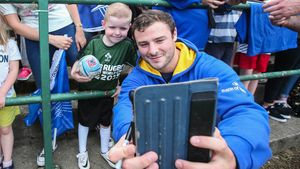 Leinster Open Training Session At Greystones RFC, Co. Wicklow, Tuesday, August 2, 2016