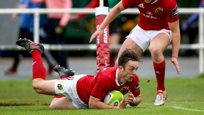Sweetnam Touches Down Twice In Munster Win