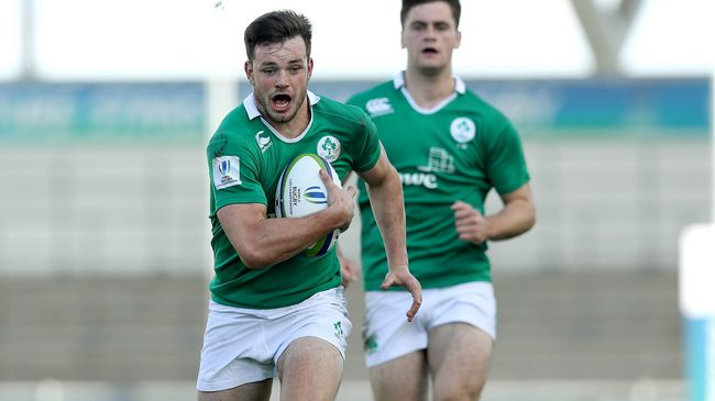 Ireland U-20 Winger Byrne Joins Connacht Academy