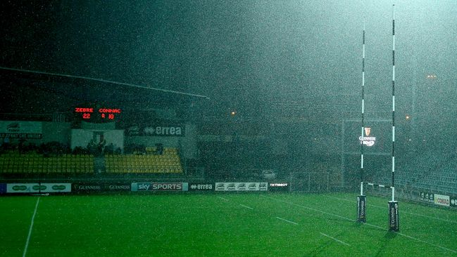 Zebre v Connacht Match Is Abandoned
