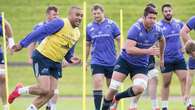 Zebo And O'Mahony Return To Full Training