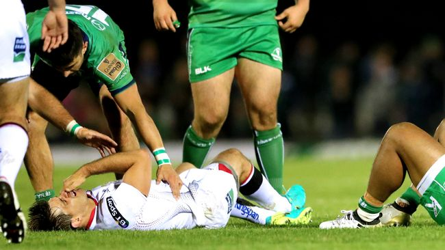 Injuries Sideline Ulster Backs Ludik And Cave