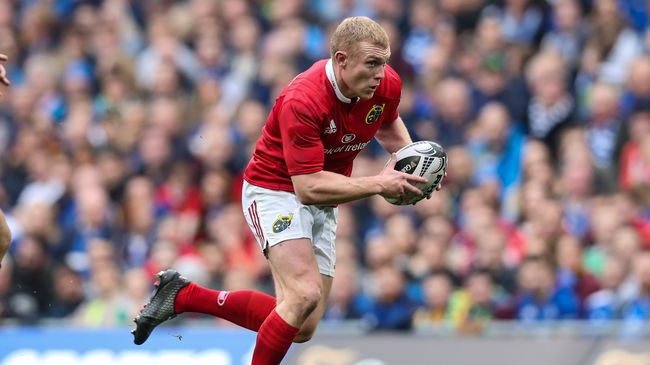 Earls Is Munster's Only Change For Glasgow Game