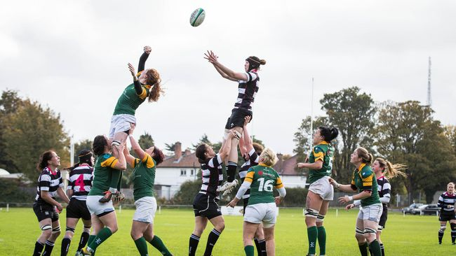 In Pics: Old Belvedere Women 17 Railway Union Women 12