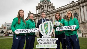 Women's Rugby World Cup 2017 Pool Draw, Belfast City Hall, Wednesday, November 9, 2016