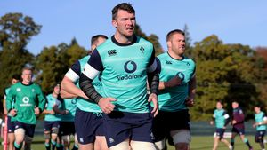 Ireland Squad Training At Carton House, Maynooth, Co. Kildare, Thursday, November 10, 2016