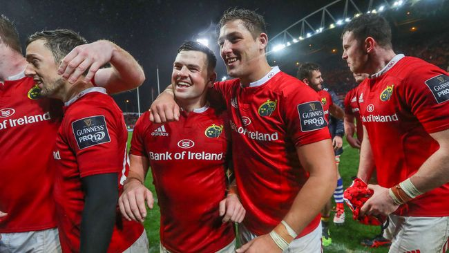Munster Promote Five Academy Players To Senior Ranks
