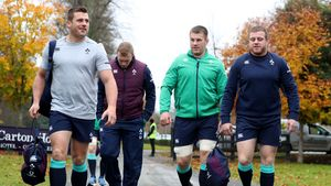Ireland Squad Training At Carton House, Maynooth, Co. Kildare, Monday, November 14, 2016