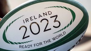Ireland Rugby World Cup 2023 Bid Launch, Aviva Stadium, Tuesday, November 15, 2016