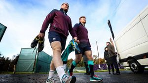 Ireland Squad Training At Carton House, Maynooth, Co. Kildare, Thursday, November 17, 2016