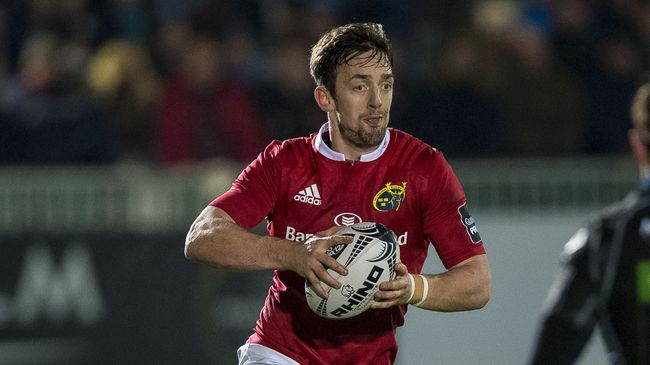 Sweetnam Returns On The Right Wing For Munster
