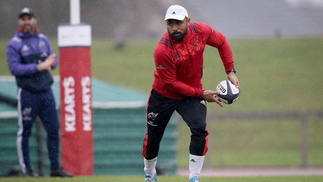 Positive Injury Update For Munster Ahead Of First Tigers Tie