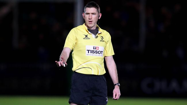 IRFU Referees In Action Across Europe This Week