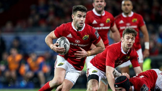 Murray On The Bench For Munster's Clash With Connacht