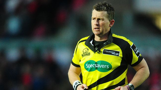 Owens Selected As PRO12 Final Referee