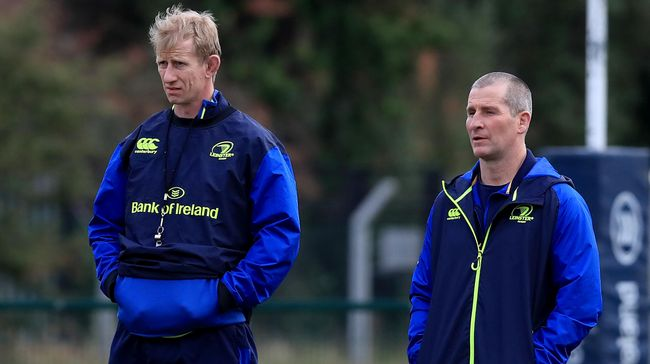 Cullen And Lancaster To Continue At Leinster Helm