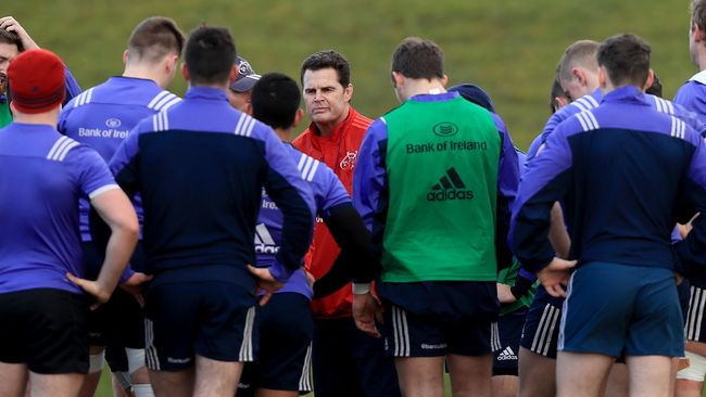 Casey And Sweetnam Resume Training With Munster