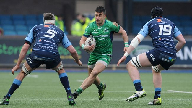 Connacht Make Four Changes For Cardiff Clash
