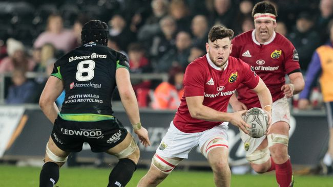 Munster's Oliver Set For Number 8 Role Against Scarlets