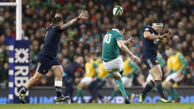 RBS 6 Nations Match Stats: Ireland 19 France 9