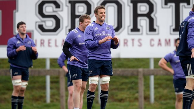 Chisholm Back In Full Training With Munster