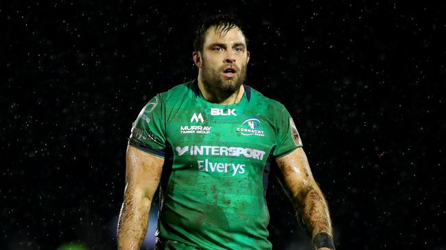 Loughney Leads Connacht's List Of Departing Players