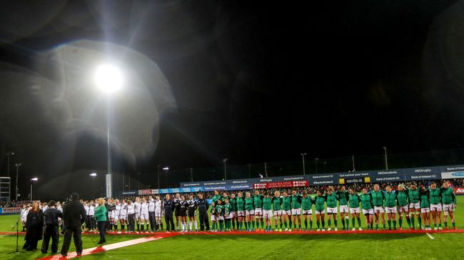 Irish Rugby TV: Donnybrook Double Tunnel Cam
