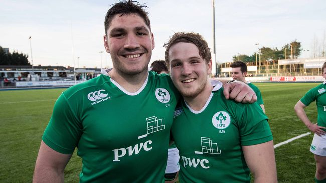 Ireland Under-19s Make Two Changes For First France Clash