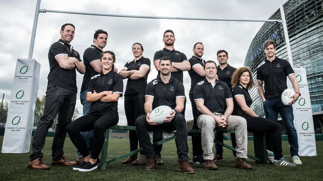 The launch of Rugby Players Ireland
