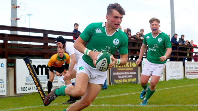Ireland U-18 Clubs And Schools Side Get Set For Canada Clashes