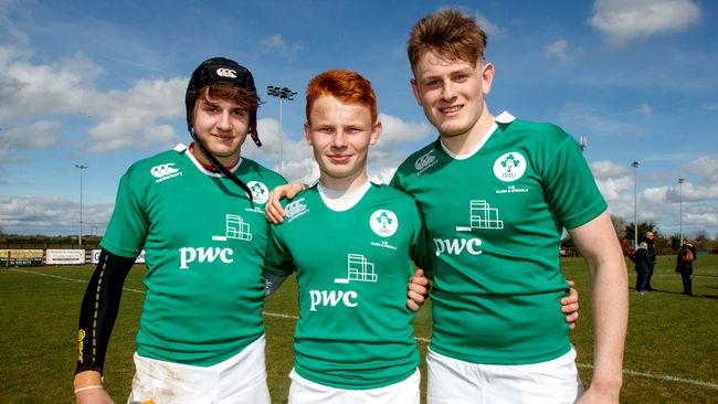 Ireland U-18 Clubs & Schools Team Named For Second England Match