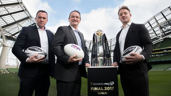 Energia To Help Power The GUINNESS PRO12 Final Series
