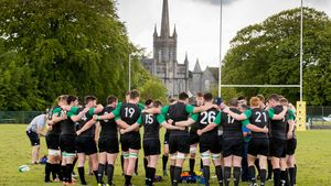 Ireland Under-20 Squad Training At Birr RFC, Co. Offaly, Thursday, May 18, 2017